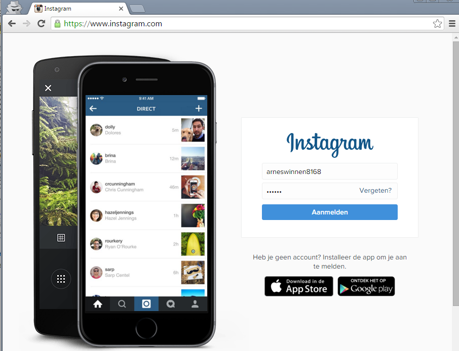 InstaBrute: Two Ways to Brute-force Instagram Account